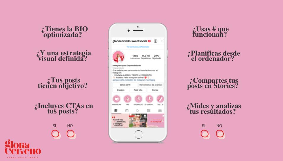 ¿Tu perfil de Instagram está listo para vender? Checklist descargable
